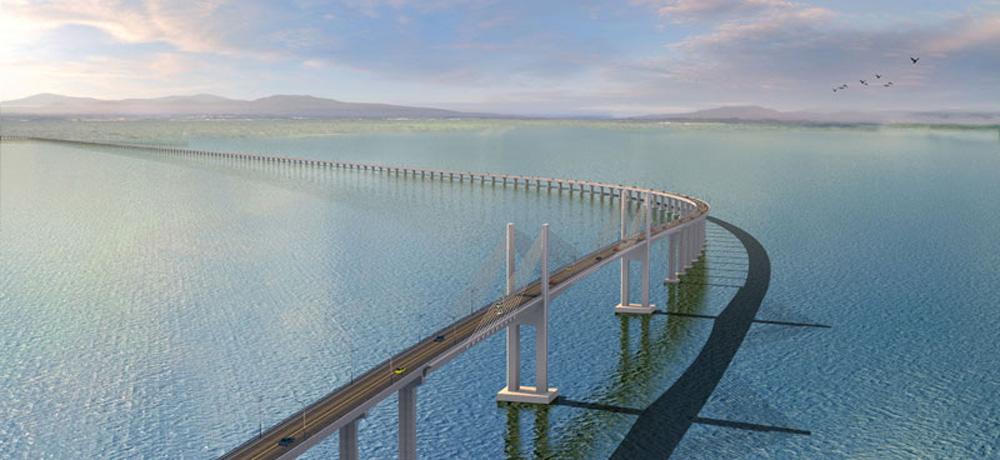 图:广东省最长跨海大桥─南澳大桥网络图片-粤最长跨海大桥建成通车