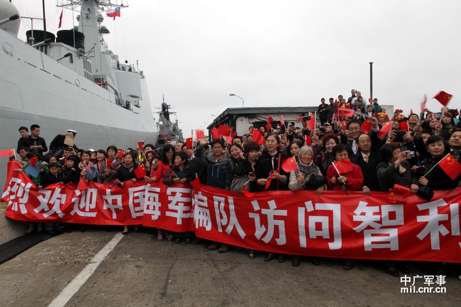 中国海军是中拉外交急先锋