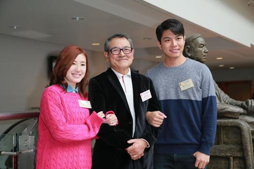 蒋家旻_图:蒋家旻(左起),刘丹与罗天宇感情已像一家人