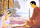 """""""佛经与腊八"""":牧羊女梦中感应供养佛陀乳粥"""