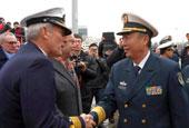 中国海军第十八批护航编队访问荷兰