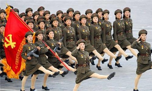 朝鲜_朝鲜将对17-20岁女性义务征兵 身高需达142厘米