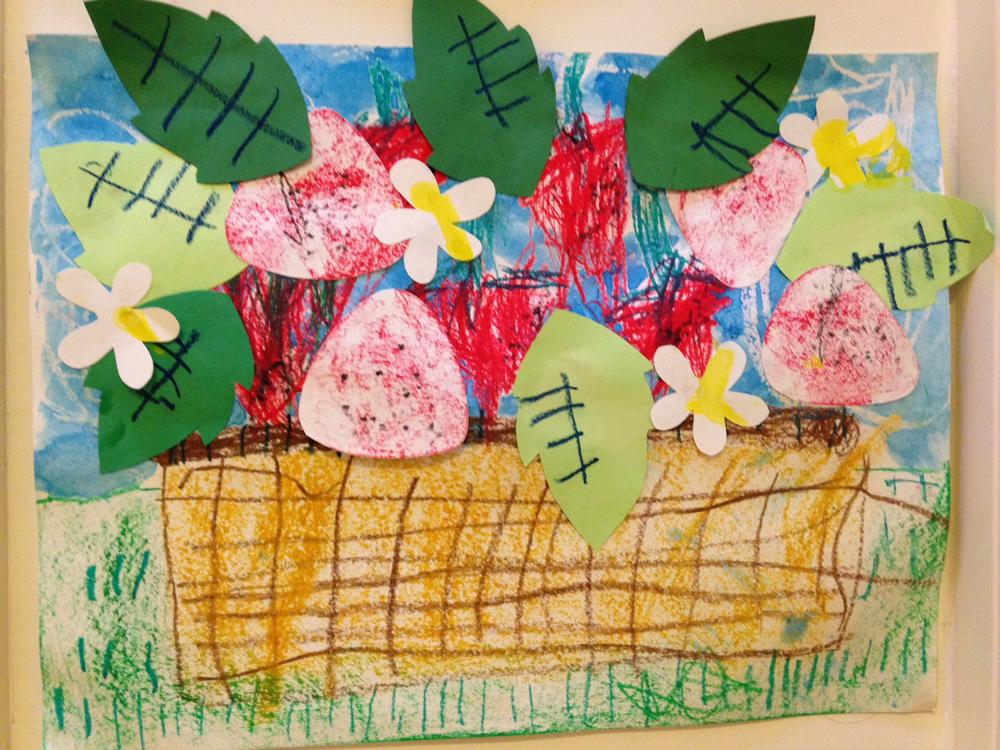 幼儿园读书日海报手绘图