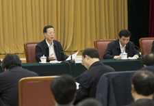 """港媒:王沪宁走出帷幕 中央""""大脑""""上前线"""