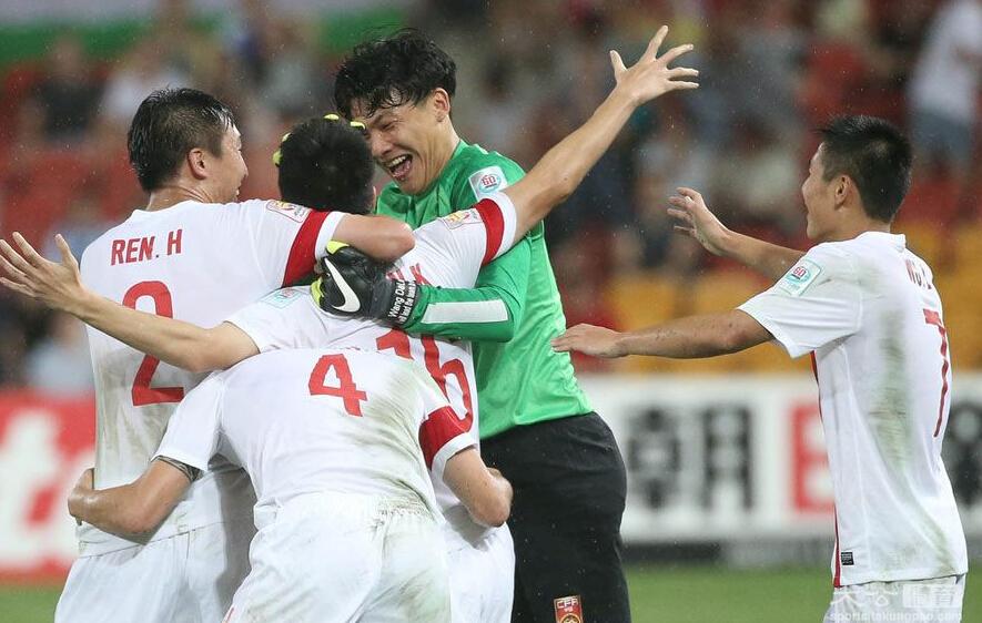 FIFA最新排名 国足升14位 排亚洲第7