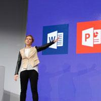 微软MWC 2015展示新版Office功能