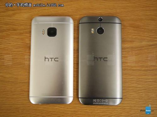 HTC M9真机对比HTC M8 售5300元