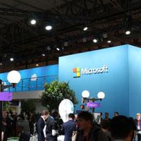 微软2015 MWC展厅一游