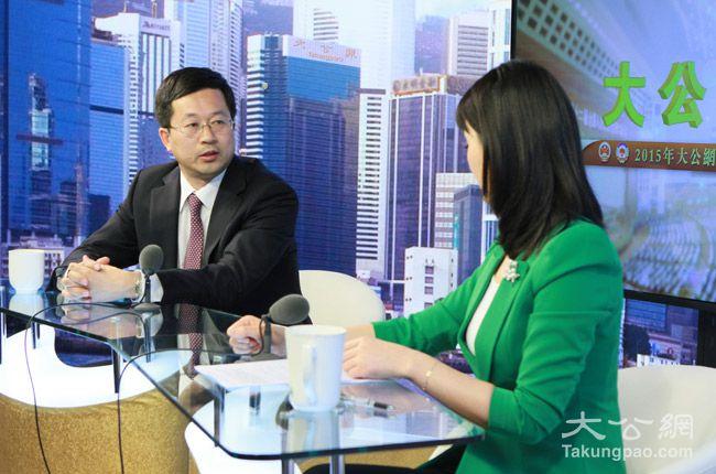 2月5日,全国政协委员、中国诚通国际投资有限公司副总经理周立群接受大公网专访。大公网 张文杰摄