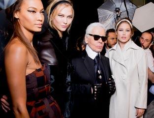 独家揭秘米兰时装周后台众生相 超模本色出镜