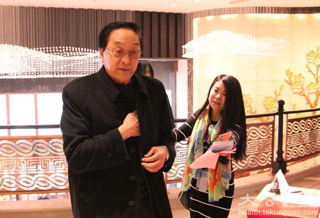 中國保健協會會長張鳳樓蒞臨本次活動。