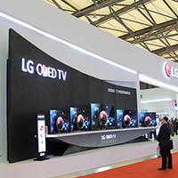 展场掠影:LG OLED电视惊艳展场