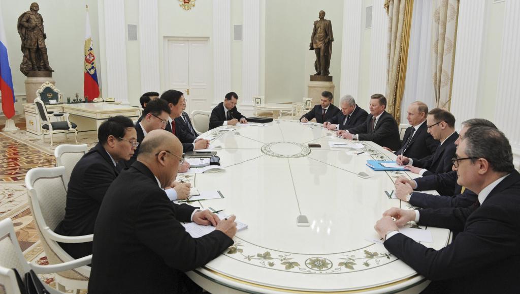 中辦主任做特使罕訪俄 邀普京9月來華參抗戰紀念