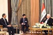 楊潔篪訪問伊拉克