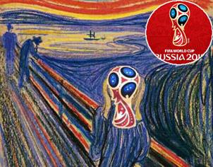 烏克蘭參加俄羅斯世界盃 足球還安全嗎?