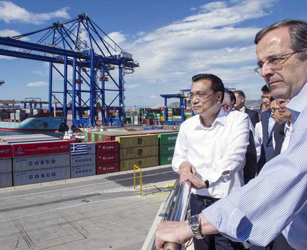 """希腊副总理访华""""为钱而来""""  曾叫停中国项目"""