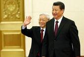 习近平欢迎越共中央总书记阮富仲访华