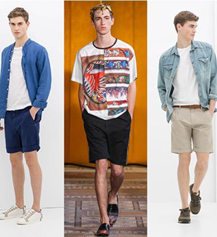 夏季到了 男士短裤这样穿才够型!
