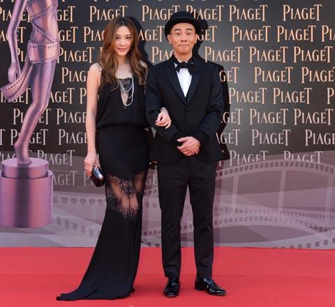 香港电影节男星抢镜 万能型男红毯造型copy法典