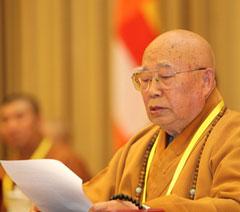 传印长老:经济新常态为佛教提供宝贵机遇