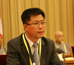 中佛協第九屆理事會會議 劉威任祕書長