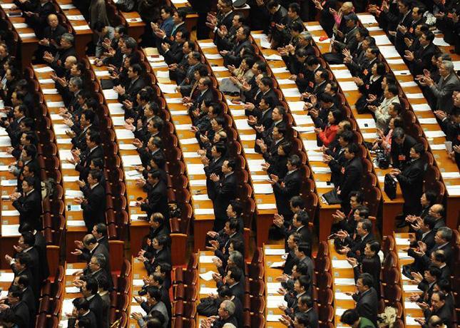 加藤看两会:从两会掌声看中国政治文化