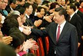 习近平会见中国红十字会第十次全国会员代表大会代表