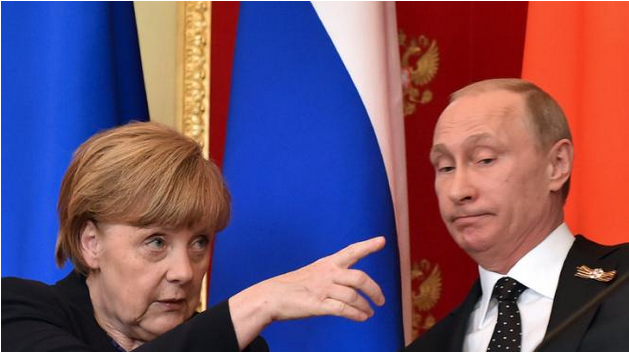 在俄羅斯駁普京 中國人應該為默克爾點贊