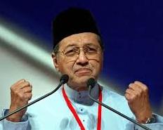 马来西亚前总理马哈蒂尔:美国该接受现实了