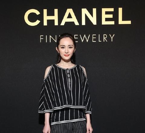 金大川攜女友出席Chanel珠寶發佈會 楊冪手包鎮全場
