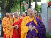 中佛协代表团出访韩国 展中国佛教风采