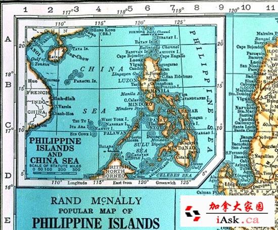 """地图绘制者将""""西沙群岛""""列入中国版图之内六个名字南沙"""