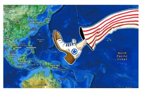 """俄学者:中美南海对峙或再以""""撞机""""收场"""