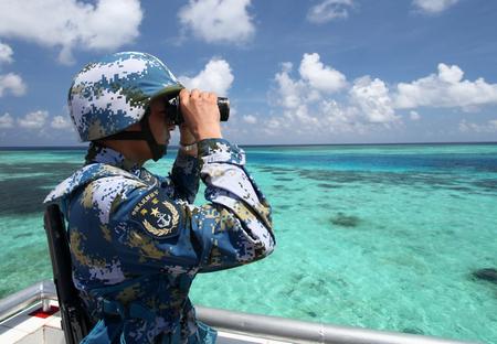 赤瓜礁守備隊長:南沙出一點事都會驚動中央領導