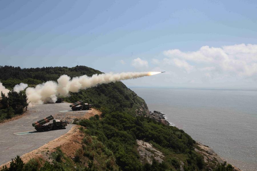 中國新型飛彈可重創數千噸級艦船 可指哪打哪