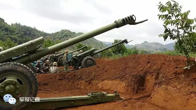 解放军中缅边境演习 缅甸官方:这是中国的权利