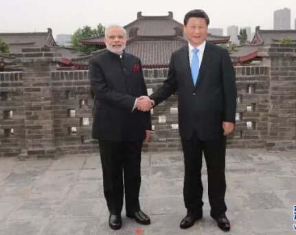 習李與莫迪兩談邊界問題 爭端無礙合作