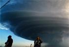 風暴追逐者鏡頭捕捉超級雷暴