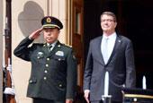 范长龙访问美国防部