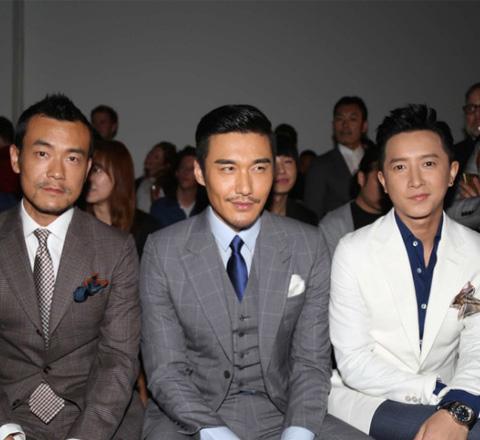 四位亞洲型男齊聚Dunhill秀場 誰是你的菜