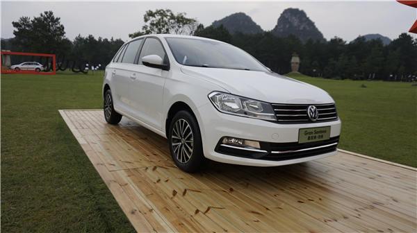 a级紧凑旅行车桑塔纳·浩纳上市 售价9.69万起