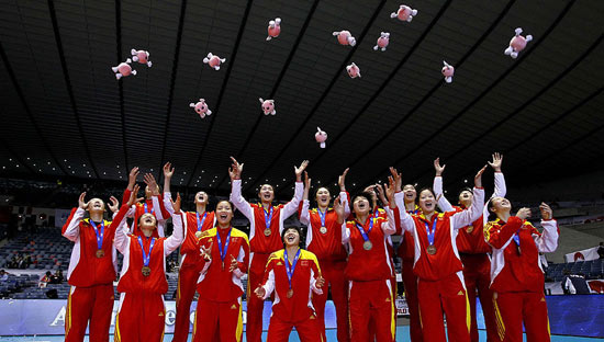 女排世界杯赛程出炉 冠亚军将直通里约