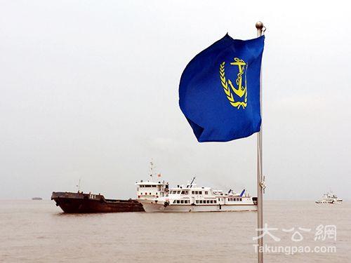 洋山海事巡逻艇现场指挥救援/上海洋山港海事局供图