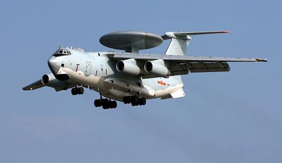 空警2000   最大飞行距离:5500公里   执勤时间上限:12小时   最高飞行时速:850公里   最大飞行重量:195吨   同时跟踪目标:60-100个   探测战机距离:400公里   探测导弹距离:1200公里