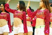 籃球寶貝性感舞動南京籃球明星賽