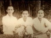 星雲大師:年輕時顏值爆表 與四任國家主席談笑風生