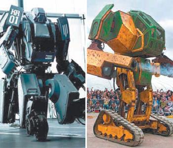 美日巨型机器人约架 日方:只能肉搏 不许枪战