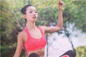 健身女神网络走红 和王珞丹像的只有胸