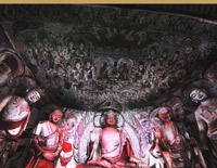 莫高窟数字中心180度超视角洞窟 画面精彩纷呈