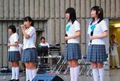 东京民众大规模集会游行反对安保法案